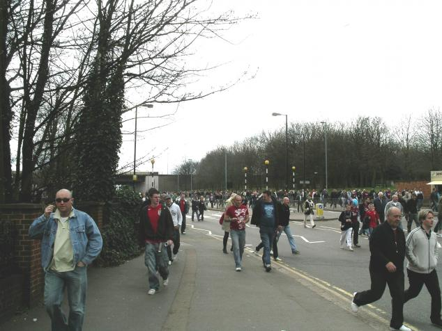 going to villa park