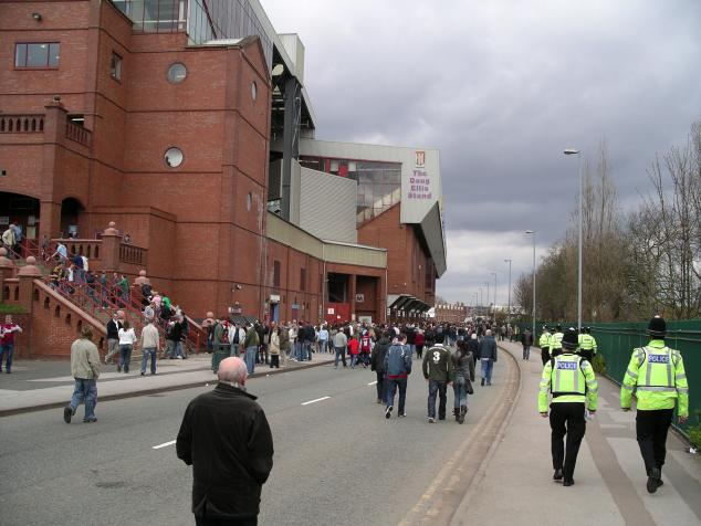 outside doug ellis stand