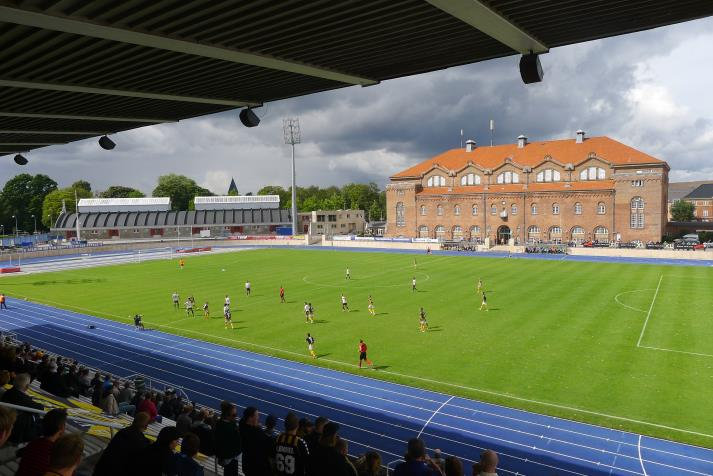 österbro stadion, vy