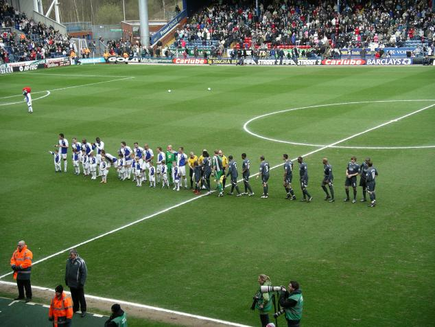 line-up, blackburn-wigan