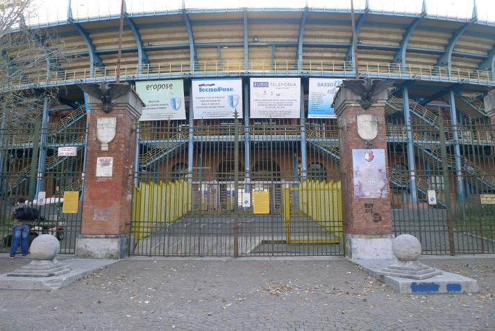 curva bulgarelli, outside