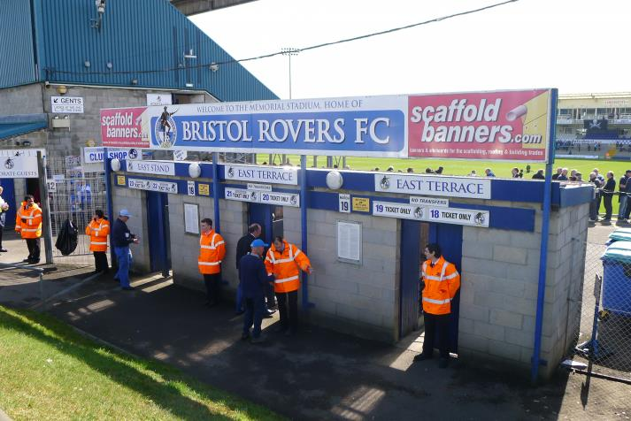 east stand, entrance