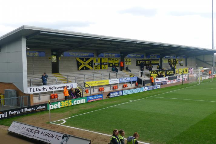 west stand