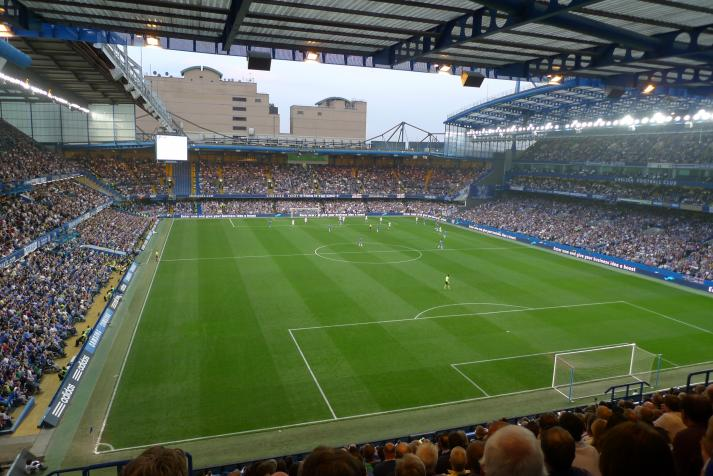 stamford bridge, view