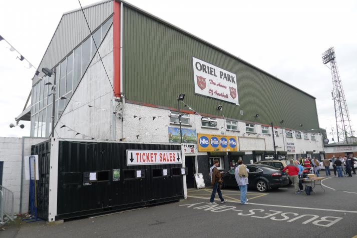 north stand, rear