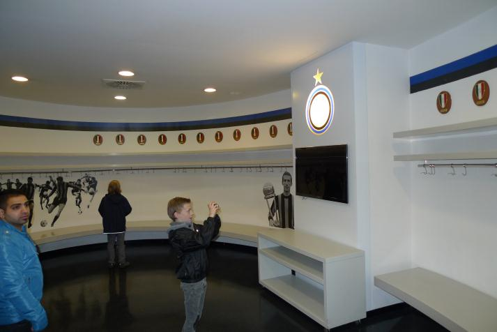 inter, dressing room