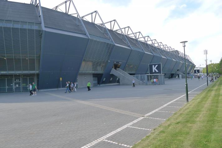 east stand, rearhibs