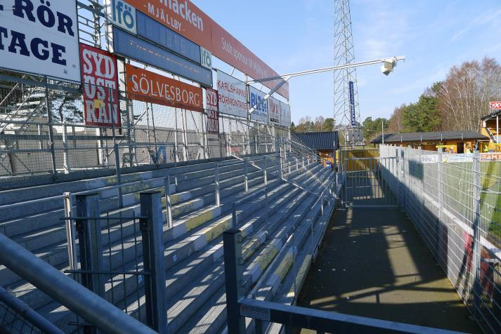 south stand, away section