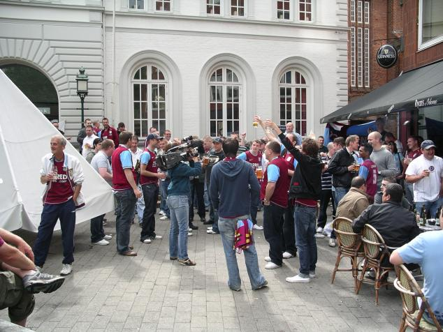 villa fans in the city centre3