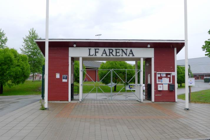 lf arena, entrance