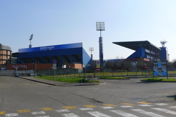 mapei stadium, outside