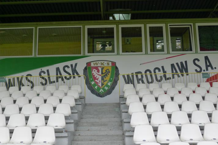 slask wroclaw, club badge
