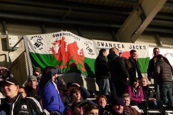 swansea flags