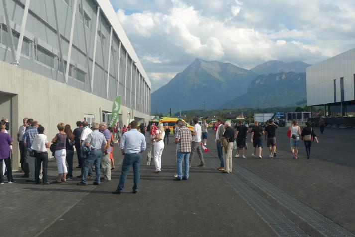 arena thun, outside