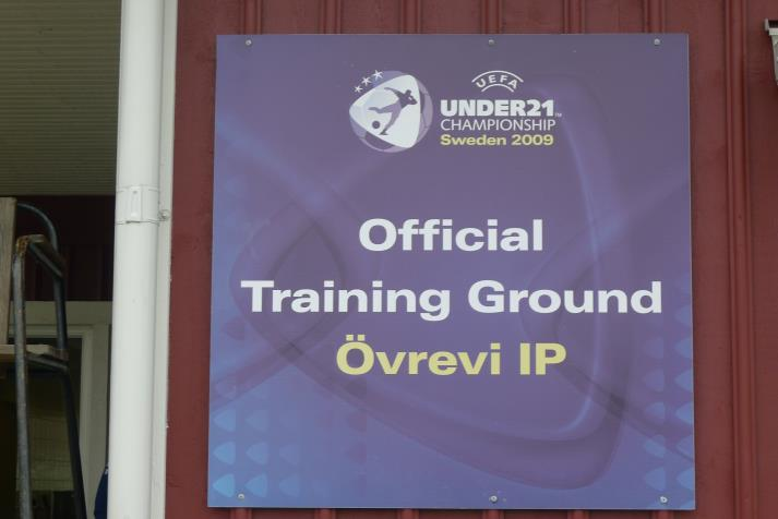 official training ground