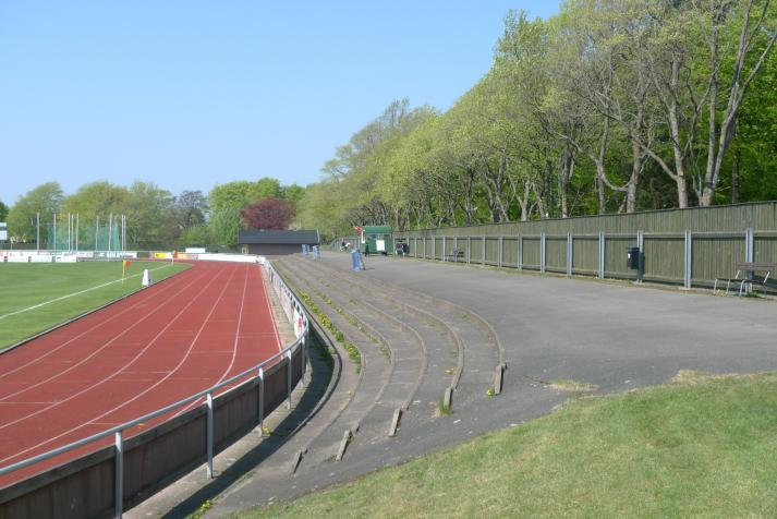 east stand