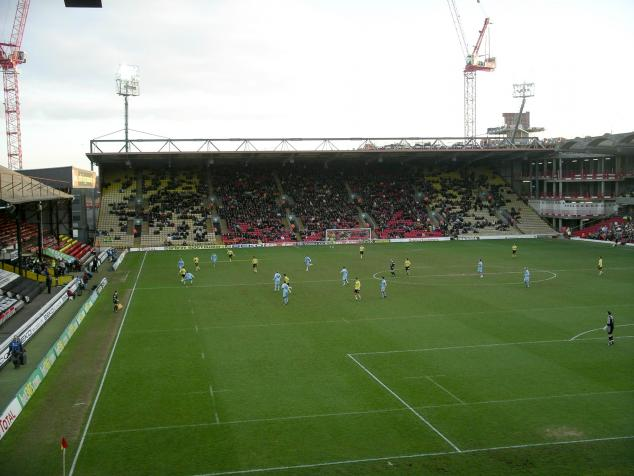 vicarage road stand