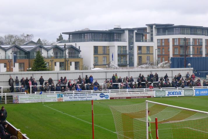 west stand, terrace