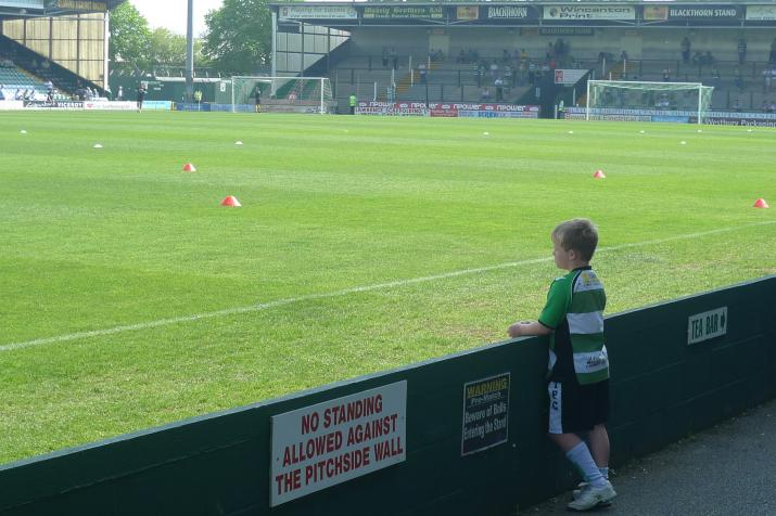 young yeovil fan